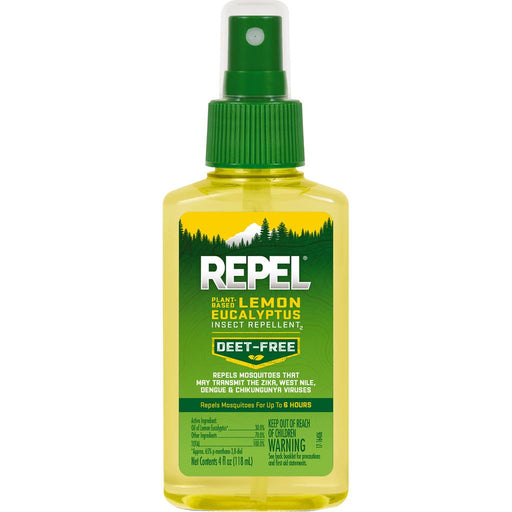 Repel Plant Based Insect Repellent Lemon Eucalyptus 4 oz.