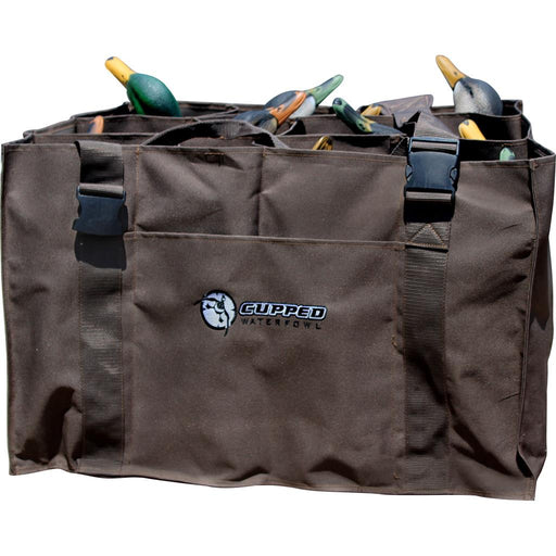 Cupped 12 Slot Duck Decoy Bag