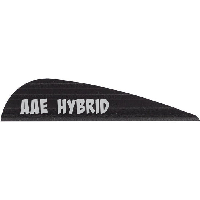 AAE Hybrid 16 Vanes Black 1.7 in. 100 pk.