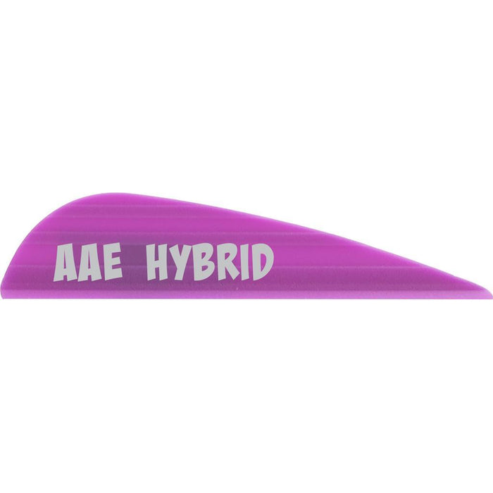 AAE Hybrid 16 Vanes Purple 1.7 in. 100 pk.