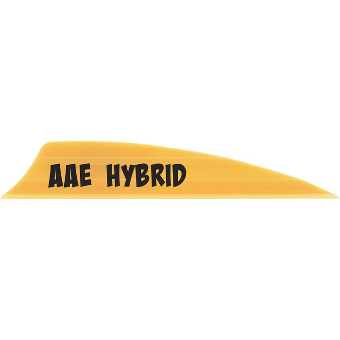 AAE Hybrid 1.85 Vanes Sunset Gold 1.85 in. Shield Cut 100 pk.