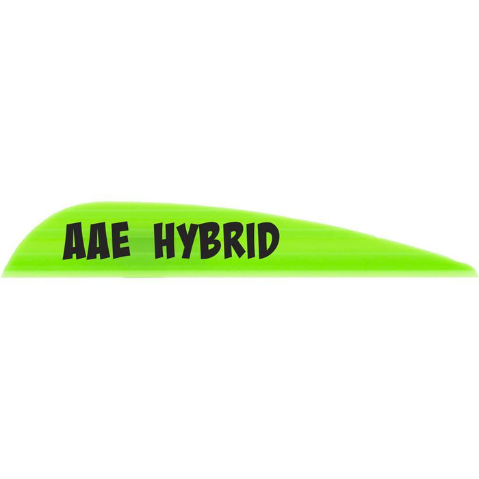 AAE Hybrid 23 Vanes Bright Green 2.3 in. 100 pk.