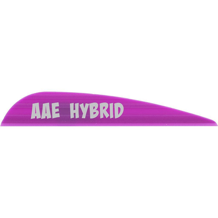 AAE Hybrid 23 Vanes Purple 2.3 in. 100 pk.