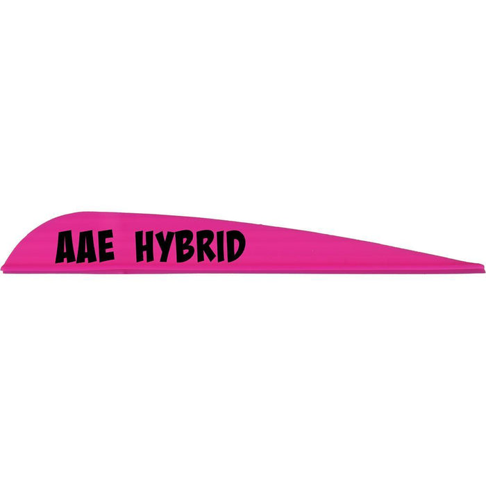 AAE Hybrid 40 Vanes Hot Pink 3.8 in. 100 pk.