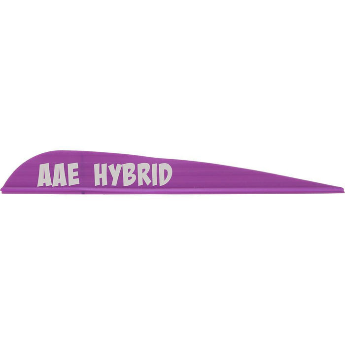 AAE Hybrid 40 Vanes Purple 3.8 in. 100 pk.