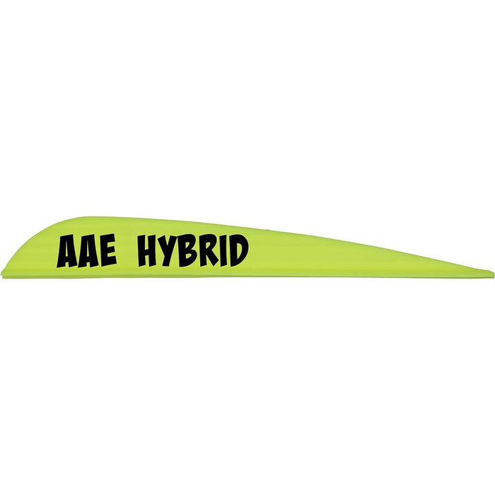 AAE Hybrid 40 Vanes Yellow 3.8 in. 100 pk.