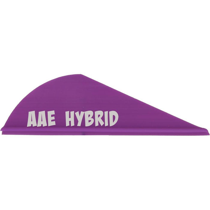 AAE Hybrid HP Vanes Purple 2 in. 100 pk.