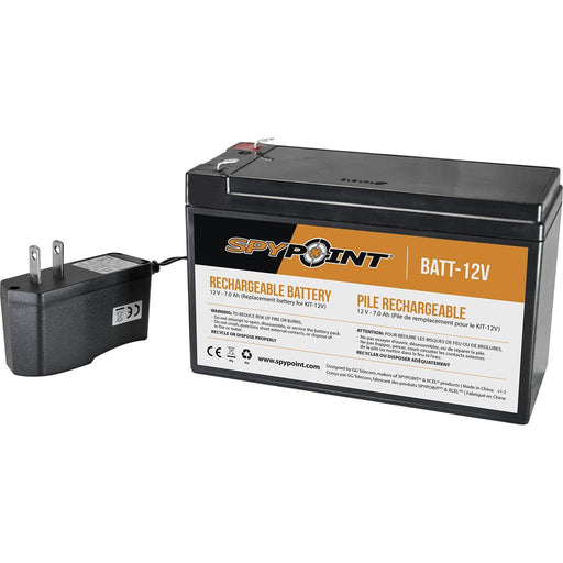 SpyPoint Rechargeable Battery 12V