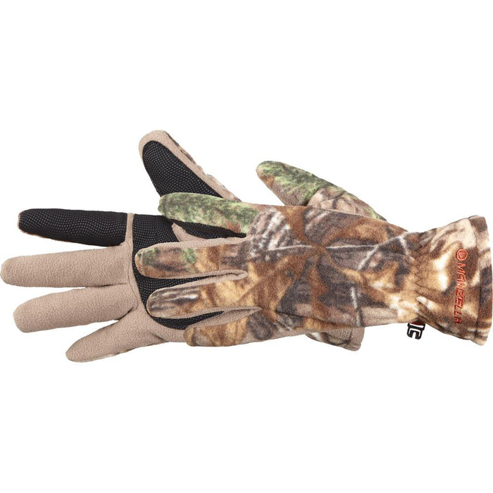 Manzella Hunter Fleece Gloves Realtree Xtra Medium