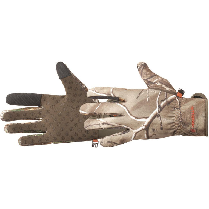 Manzella Bow Ranger Touch Tip Glove Realtree Xtra Medium