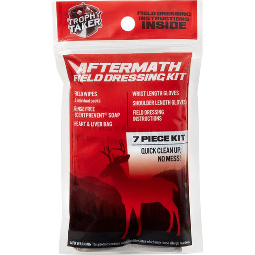Trophy Taker Aftermath Field Dressking Kit 7 pc.