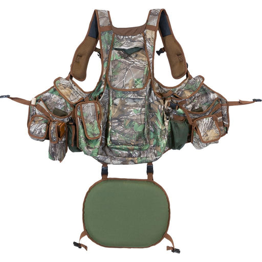 Hunters Specialties Undertaker Turkey Vest Realtree Edge