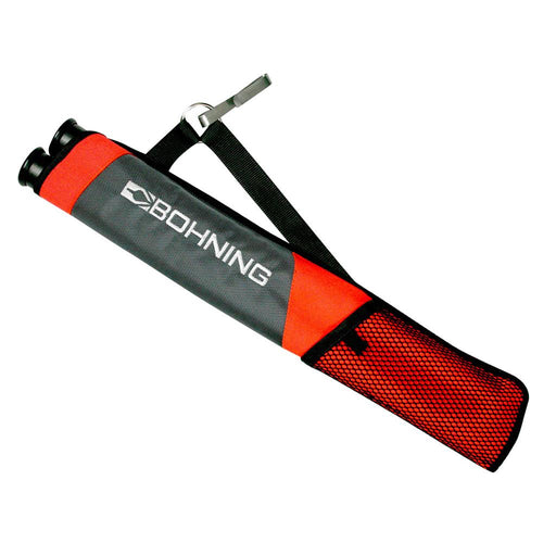 Bohning Tube Quiver Gray/Orange RH/LH