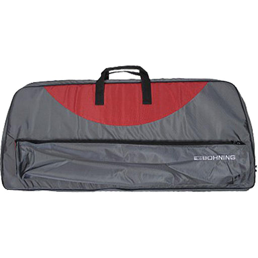 Bohning Adult Bow Case Gray and Red