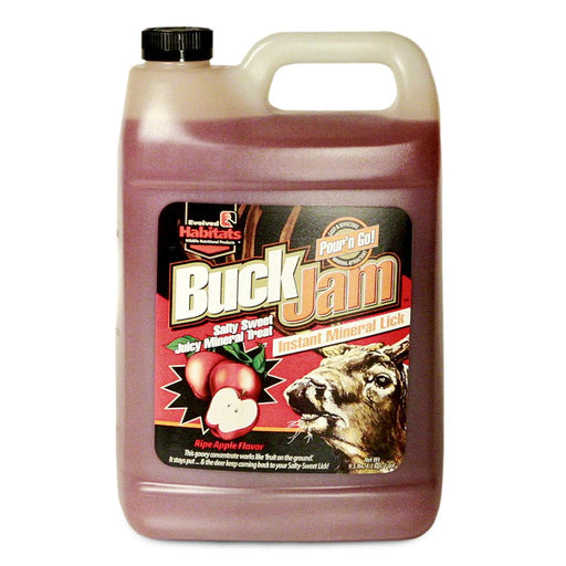 Evolved Buck Jam Liquid Attractant Ripe Apple 1 gal.