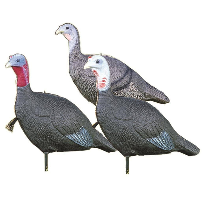 Love Triangle Flock Turkey Decoy