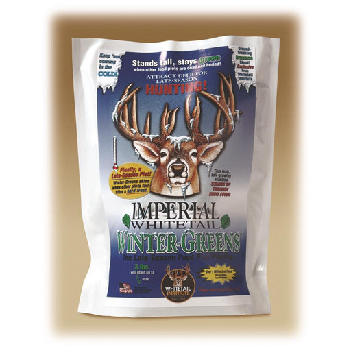 Whitetail Institute Wintergreens Seed 3 lb.