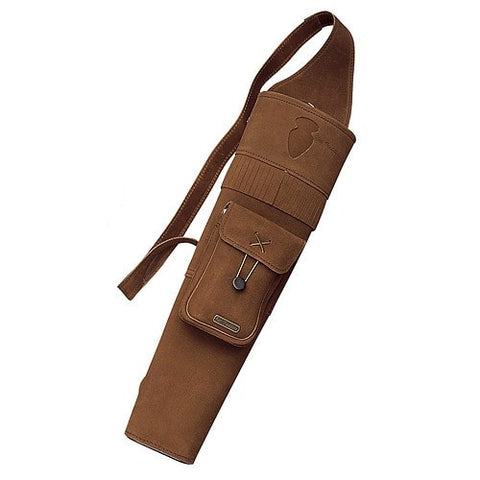Neet T-BQ-3 Back Quiver Brown RH 18.5 in. | Leather Quiver