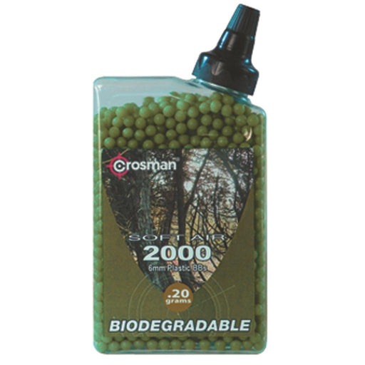 Crosman Airsoft Match Ammo Biodegradable .20g 2000 pk.