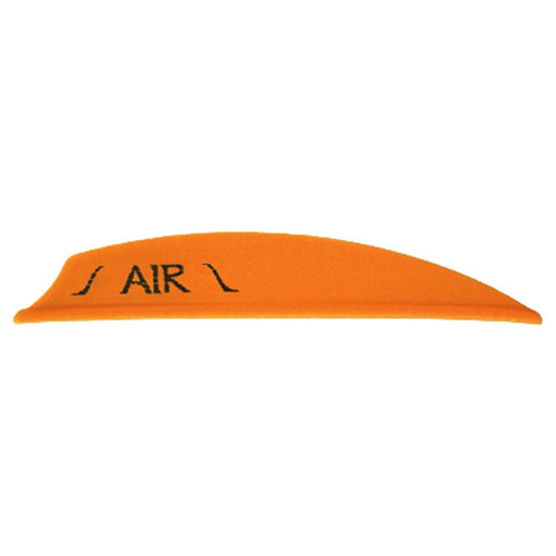 Bohning Air Vanes Neon Orange 2 in. 100 pk.