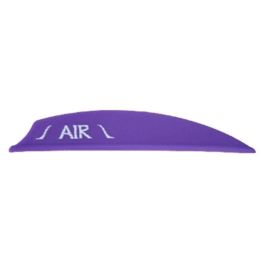 Bohning Air Vanes Purple 2 in. 100 pk.