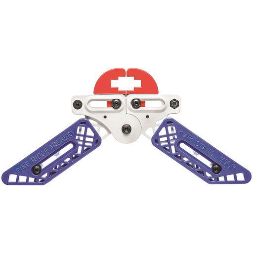 Pine Ridge Kwik Stand Bow Support White/Red/Blue