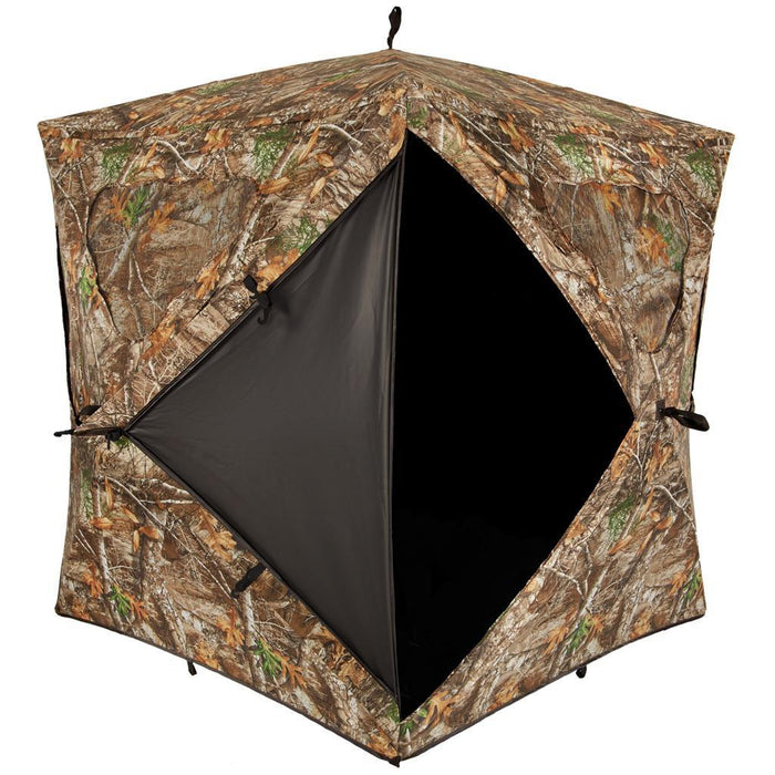 Ameristep Silent Brickhouse Blind Realtree Edge
