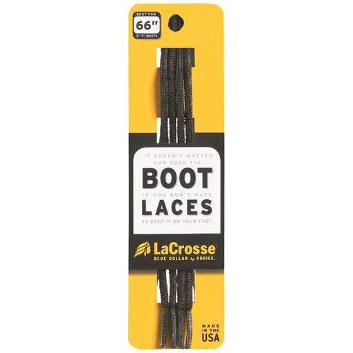 LaCrosse Boot Laces Black/Brown 76 in.