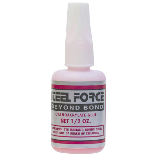Steel Force Beyond Bond Glue Pink .5 oz.
