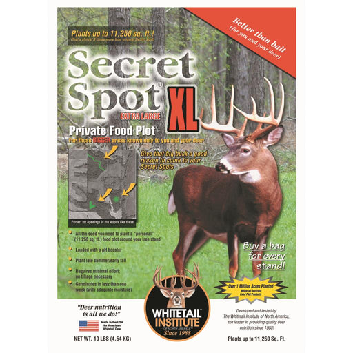 Whitetail Institute Imperial Seed Secret Spot XL 10 lb.