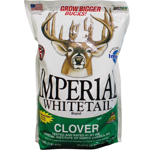 Whitetail Institute Imperial Seed Whitetail Clover .5 Acres 4 lb