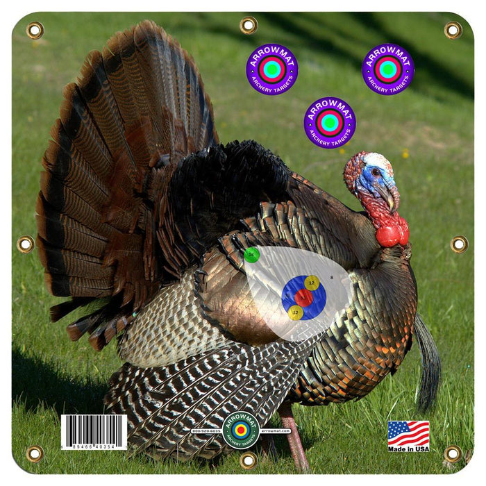 Arrowmat Foam Target Face Turkey 17x17 in.