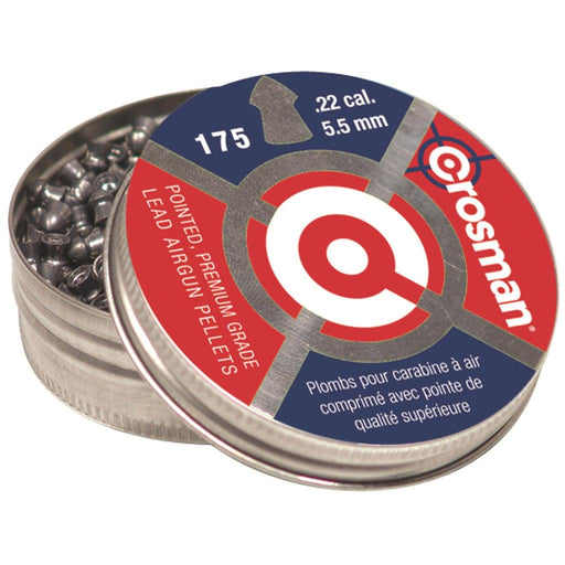 Crosman Pointed Pellets .22 cal. 175 pk.