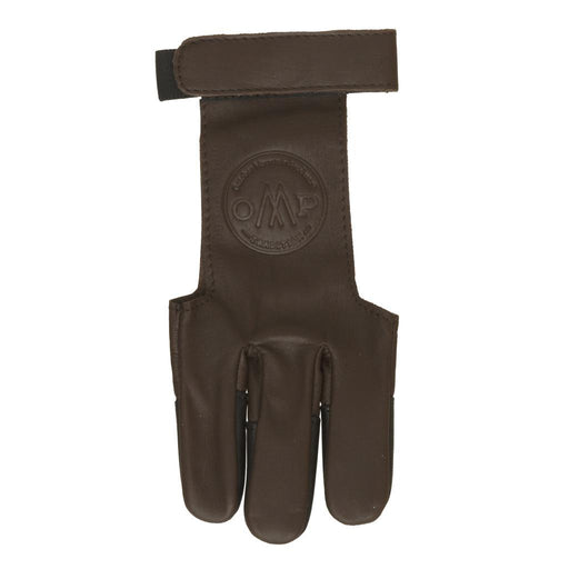 October Mountain Shooters Glove Brown Large