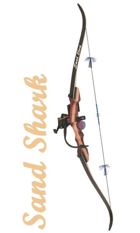 Fin-Finder Sand Shark Recurve w/Retriever Pkg. | Bowfishing Bow Package