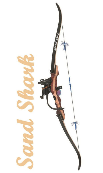 Fin-Finder Sand Shark Recurve w/LightStryke/Retreiver - Bowfishing Bow Package