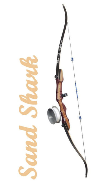 Fin-Finder Sand Shark Recurve w/Drum Reel Pkg. | Bowfishing Bow Package