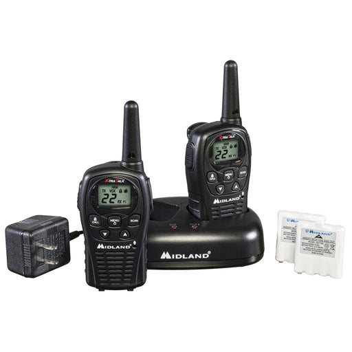 Midland LXT500VP3 2 Way Radio w/Batteries & Charger