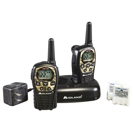 Midland LXT535VP3 2 Way Radio w/ Batteries & Charger