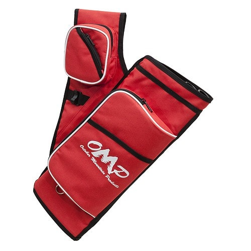 October Mountain Hip Quiver Pro Red 5 Tube RH