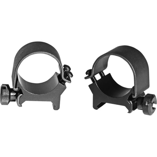 Weaver Detachable Top Mount Rings Black 1 in. Ring X-High