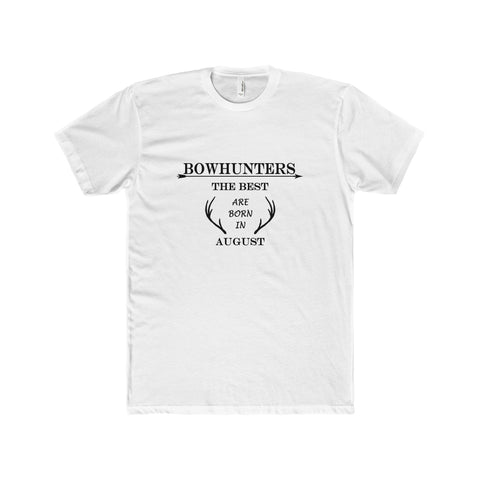 Bowhunter T-Shirt White - August