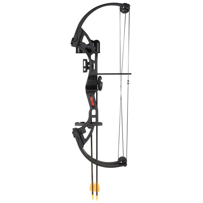 Bear Brave Bow Set Black 13.5-19 in. 15-25lbs. RH