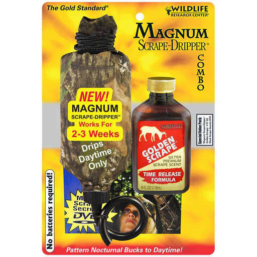 Wildlife Research Magnum Dripper Combo Gold Scrape 4 oz.