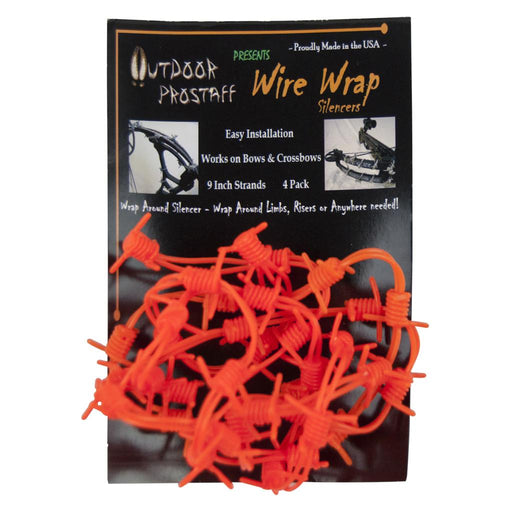 Outdoor Prostaff Wire Wrap Silencers Orange