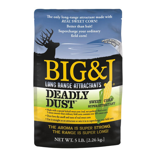 Big And J Deadly Dust Sweet Corn Attractant 5 lb.