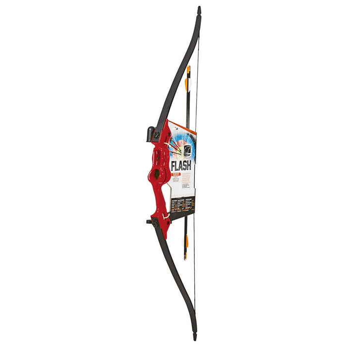 Bear Flash Bow Set Red 16-24 in. 5-18 lbs. RH/LH