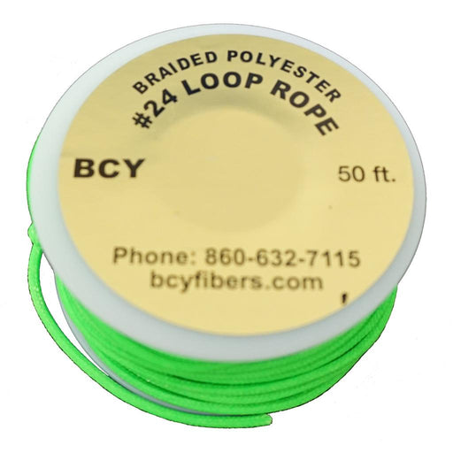 BCY 24 D-Loop Material Neon Green 50 ft.