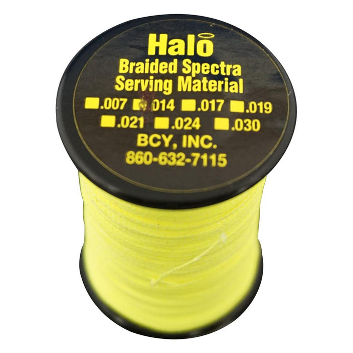 BCY Halo Serving Neon Yellow .014 120 yds.