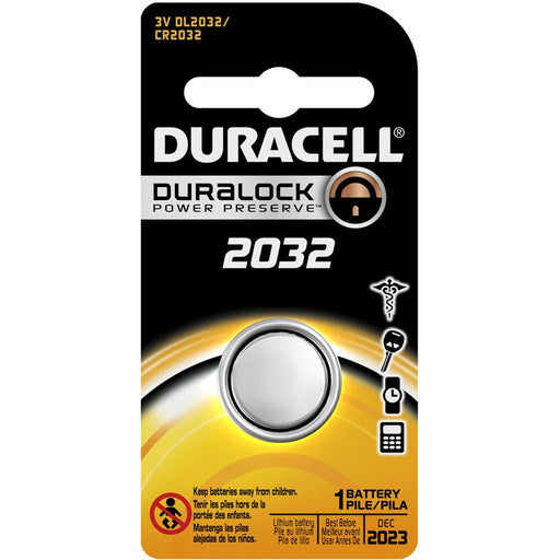 Duracell Lithium Coin Battery 2032 1 pk.